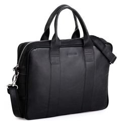 Leather Bag Brodrene Black