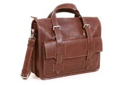 Leather Business Bag Satchel VOOC Crazy Horse TC10