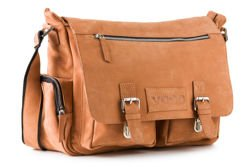 Leather College Laptop Bag VOOC Crazy Horse RCH5