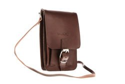 Leather passport bag VOOC Vintage P19