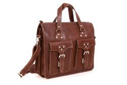 Leather satchel Bag VOOC Crazy Horse TC9