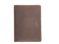 Slim Wallet Brodrene Dark Brown