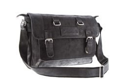 Unisex leather shoulder bag  VOOC URBAN RDW3
