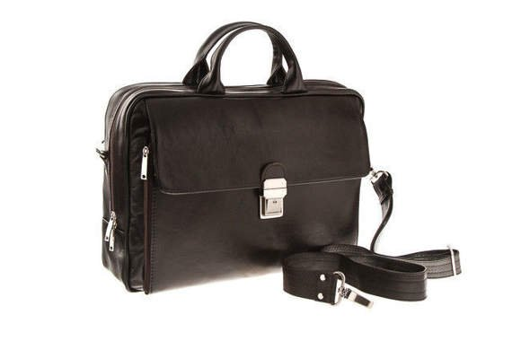 Leather Laptop bag VOOC Prestige EP8 15,6""