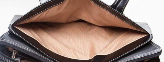 """15.6"""" Leather Ladies' Briefcase Mcklein Alexis"""
