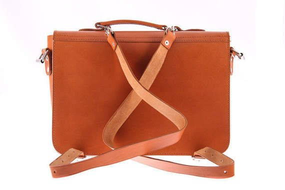 Versatile satchel/backpack Vintage VOOC P13