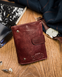 Mały portfel dla mężczyzny Always Wild® skórzany