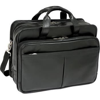 f318f531c7b51 Torba biznesowa na laptopa czarna Walton 17