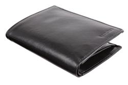 Tradycyjny portfel ze skóry męski PPM5, kolor czarny