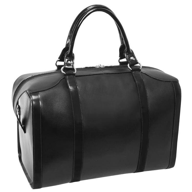 bf7862732 Skórzana torba podróżna czarna Throop 18