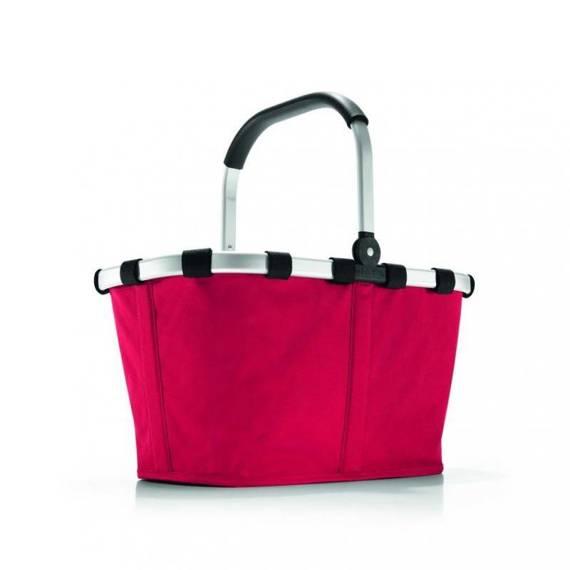 Koszyk na zakupy, torba czerowna carrybag Reisenthel