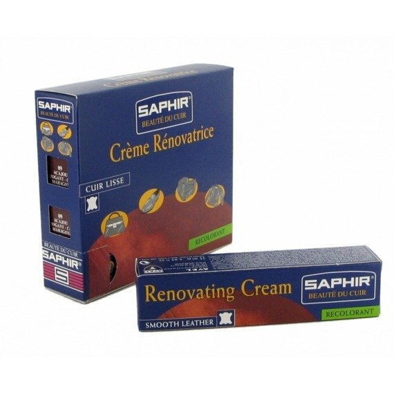 Krem do renowacji skór do kierownic na zadrapania renovating cream saphir 25 ml