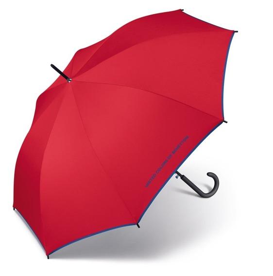 Parasol, laska, długi automatyczny Bentton