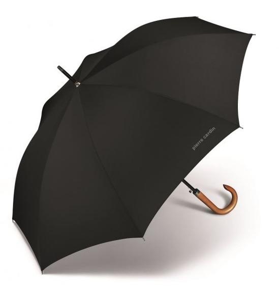 Parasol męski długi, laska automatyczny Primeur Long Pierre Cardin