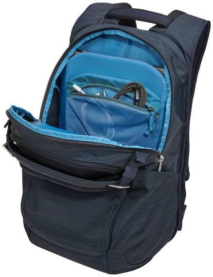 """Plecak miejski biznesowy na laptopa 15,6"""" 24 litry Thule Construct Niebieski"""