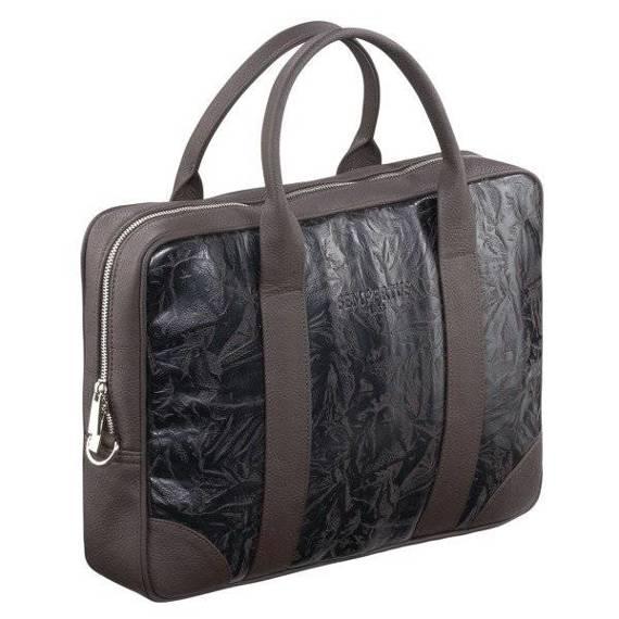 "Torba biznesowa na laptopa 15,6"" na ramię skóra ekologiczna Sempertus"