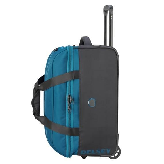 Torba kabinowa walizka Delsey EGOA torba podróżna 55 cm niebieska