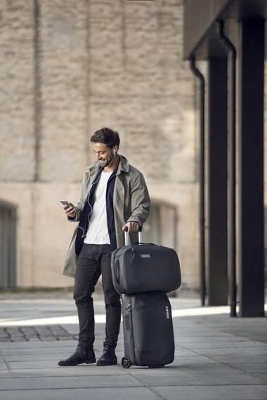 """Torba podróżna kabinowa plecak na laptopa 15,6"""" 40 litrów Thule Subterra Granatowy"""