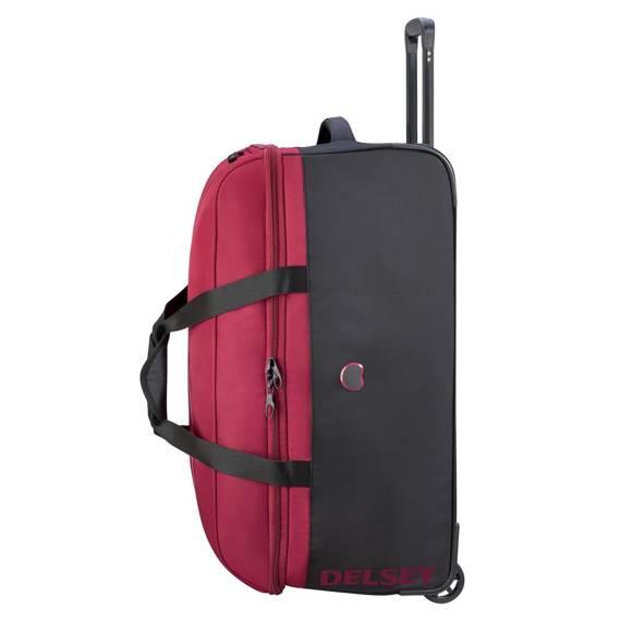 Torba podróżna średnia Delsey Walizka EGOA 69 cm czerwona
