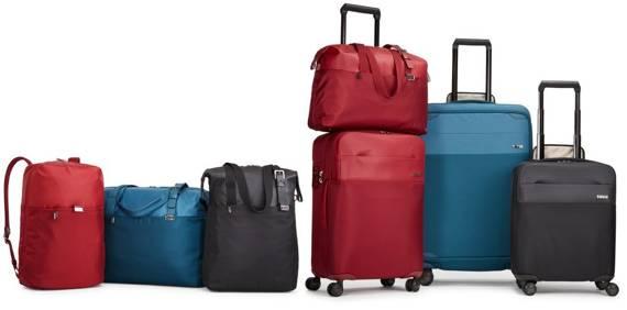 Torba podróżna weekendowa duża torba podręczna 37 litrów Thule Spira Czerwona