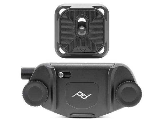 Uchwyt do aparatów Peak Design Capture V3 z płytką standard czarny