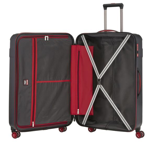 Walizka duża L Travelite Vector, ABS, 4 kółka czarna